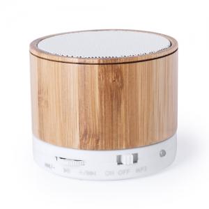 Haut-parleurs en bambou