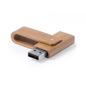 Clé USB en bambou