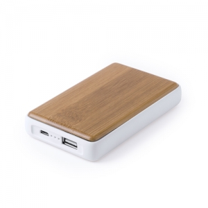Power-Bank Bambou