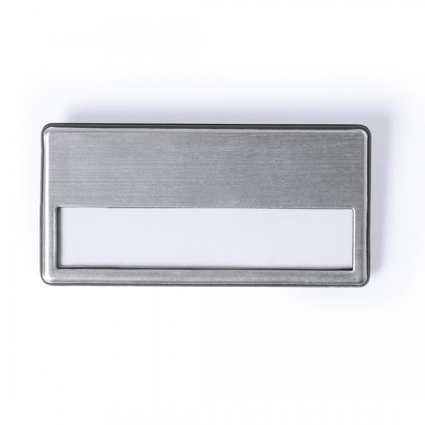 Badge métallique personnalisable